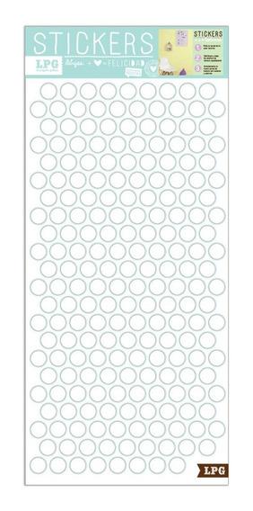 Sticker Eco Textura Puntos Blancos