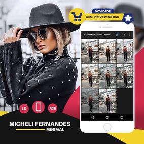 Micheli Fernandes - Minimal Presets Lightroom + Acr + Mobile