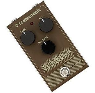 Pedal Tc Electronic Echobrain Analog Delay Para Guitarra