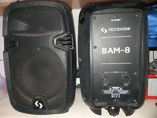Parlantes Tecshow Bam 8