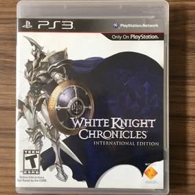 Jogo White Knight Chronicles Ps3 - Mídia Física Seminovo