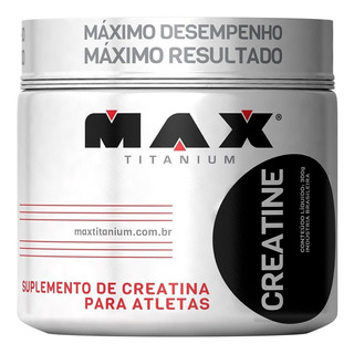 Creatina Max Titanium - Monohidratada
