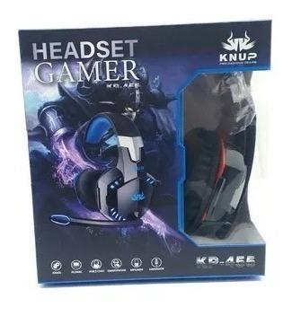 Fone Com Microfone Headset Gamer Pc Adaptador Celular Ps4