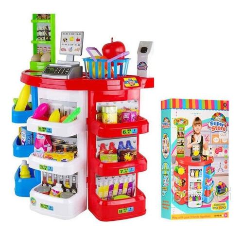 Set Supermercado 38 Piezas Super Store Juguete Niños