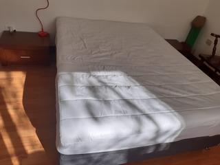 Combo Colchón Paraiso 1,40x1,90 + Base Cama