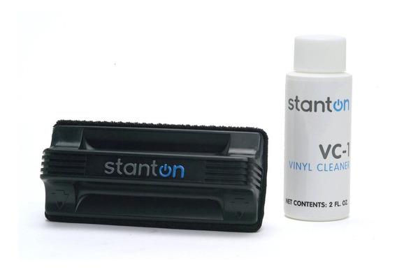 Kit Limpiador Vinilo Pro Stanton Vc1 Made In Usa