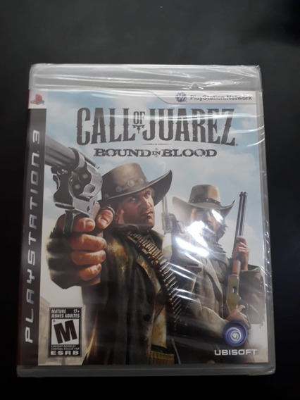 Call Of Juarez Bound In Blood - Ps3 - Lacrado De Fábrica