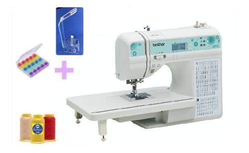 Imagem 1 de 2 de Maquina De Costura Qb9110 + Bobinas + Linhas + Suporte