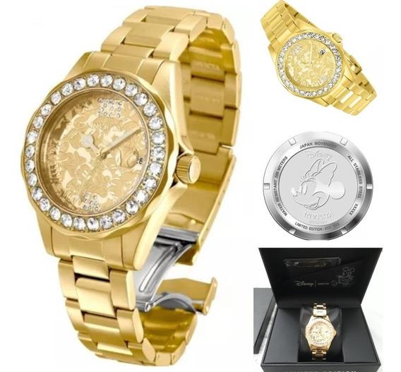 Relógio Invicta 22870 Minnie Feminino Original