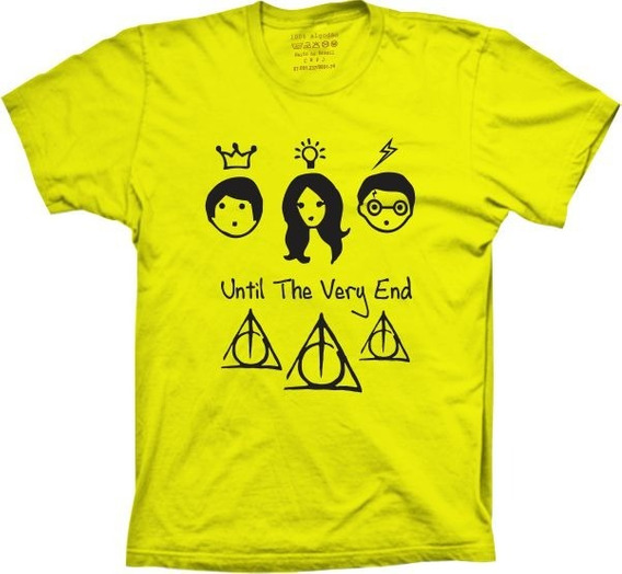 Camisetas 4fun - Silk Filme Harry Potter Personagens