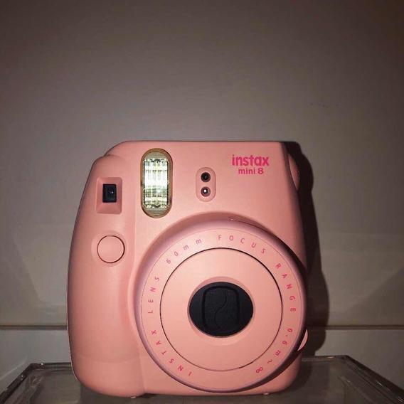 Câmera Polaroid Instax Mini 8 - Rosa Chiclete