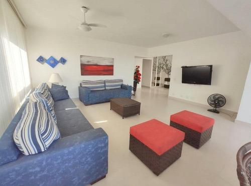 Cobertura Com 3 Dormitórios À Venda, 380 M²  Enseada - Guarujá/sp - Co0841