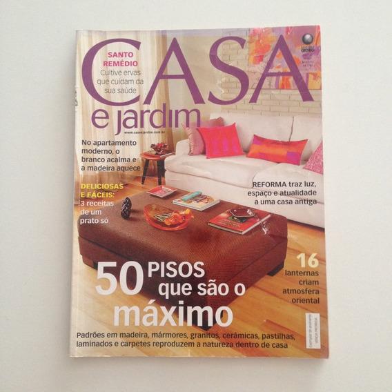 Revista Casa E Jardim 607 Ago2005 50 Pisos Para Decorar C2