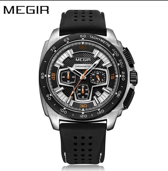 Relógio Megir - 2056 - Pronta Entrega - Novo Original