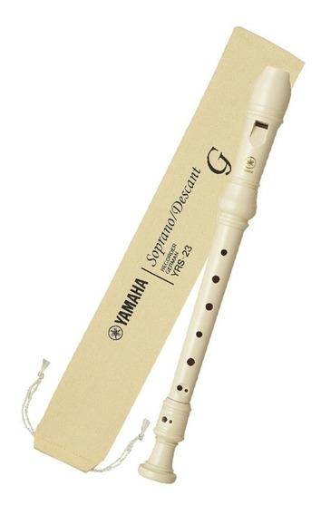 Flauta Doce Yamaha Yrs-23g Germânica