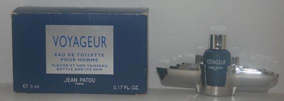 Miniatura De Perfume: Jean Patou - Voyageur - 5 Ml - Edt