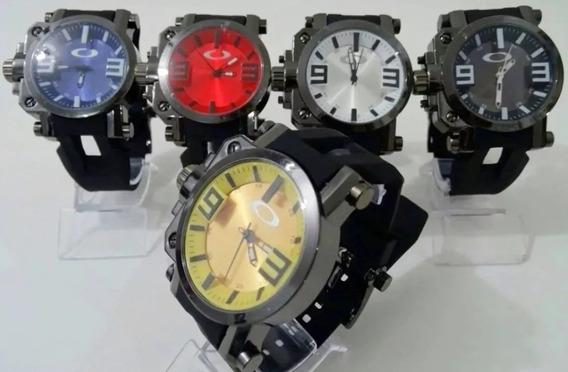 Relógio Masculino Oakley Gearbox- A Prova D´água