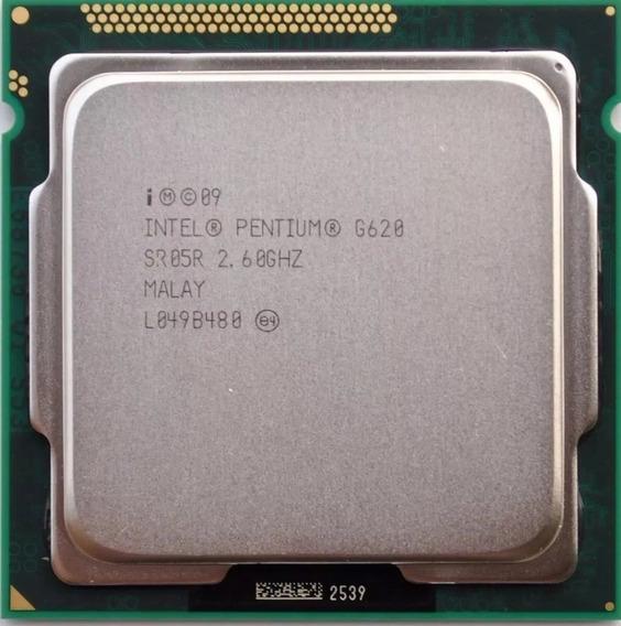 Processador Intel Pentium G620 2.6 Ghz Lga 1155