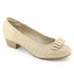 Sapato Feminino Ultra Conforto Verniz 7032 223 - Modare