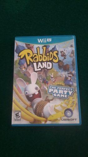 Rabbids Land Seminovo Wii U Midia Fisica Original