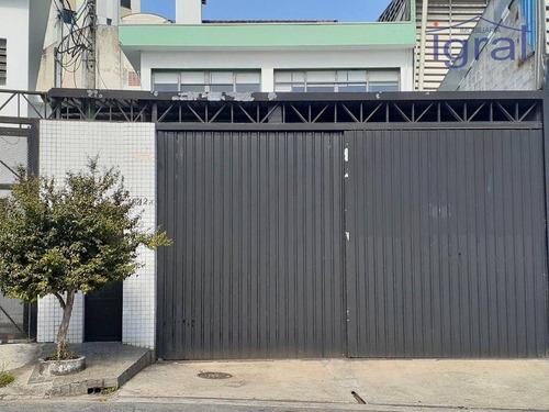 Imagem 1 de 30 de Galpão Para Alugar, 800 M² Por R$ 13.000,00/mês - Vila Guarani (zona Sul) - São Paulo/sp - Ga0048