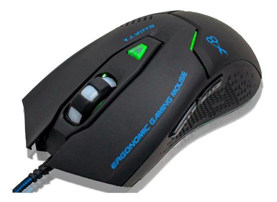Mouse Gamer Profissional B-max X8 Gaming 3200 Dpi 6 Botões