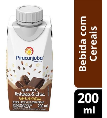 Bebida Quinoa Com Cereais Mocaccino 200ml