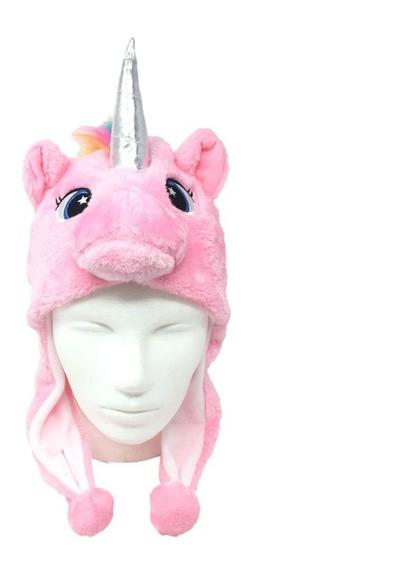 Gorro Unicornio Para Niña Invierno Frio