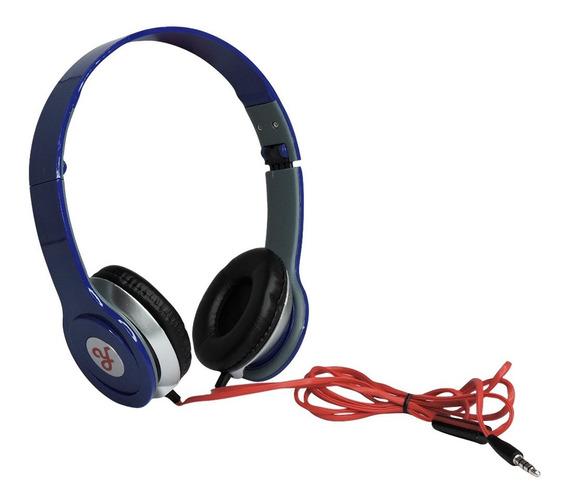 Fone De Ouvido Estéreo Ro Headphone P2 - Azul