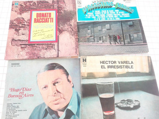 Lote De 5 Discos De Vinilo De Tango Nuevos En Sus Cajas D02