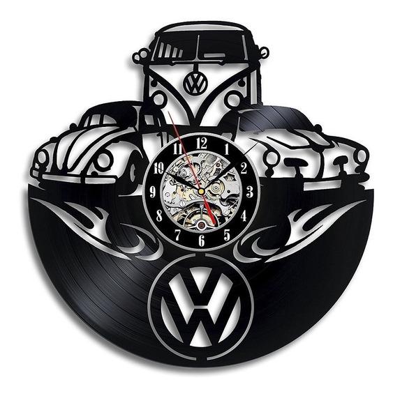 Relógio De Parede, Volkswagen, Fusca, Perua, Carro,decoração