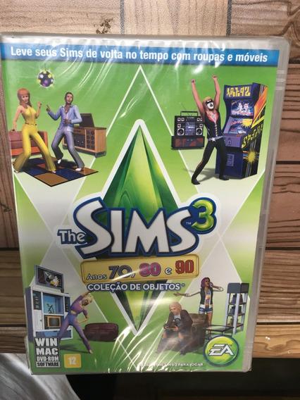 The Sims 3 Anos 70, 80 E 90 Coleção De Objetos Pc
