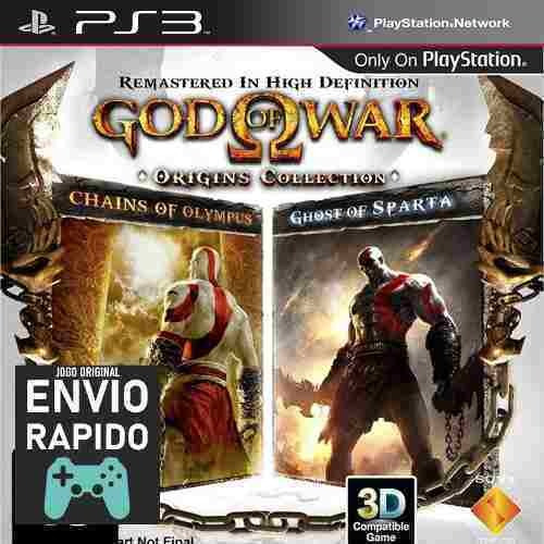 God Of War Ghost Of Sparda + Chain Of Olympus Jogos Ps3 Orig