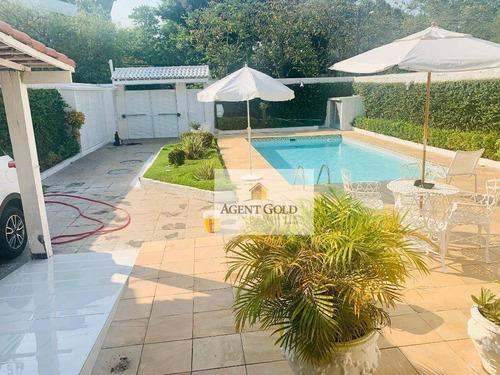 Casa Com 5 Dormitórios À Venda, 480 M² Por R$ 2.290.000,00 - Barra Da Tijuca - Rio De Janeiro/rj - Ca0434