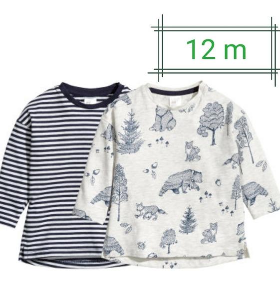 Camisetas Mangas 3/4 H&m