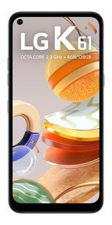 Celular LG K61 Q630bmw Dual 128gb 4gb Ram 6.5 Fhd+ Titanium