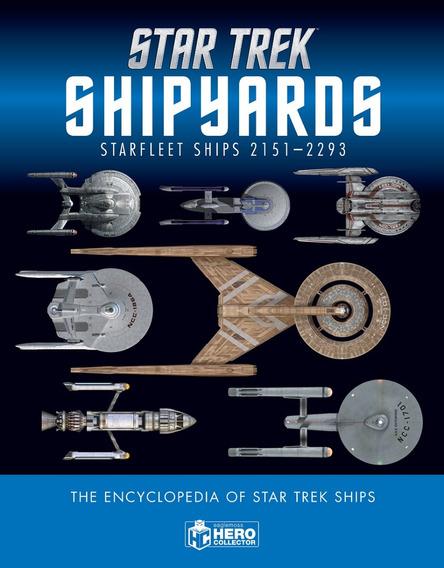 Star Trek Shipyards - Starfleet Ships - 2 Volumes(capa Dura)