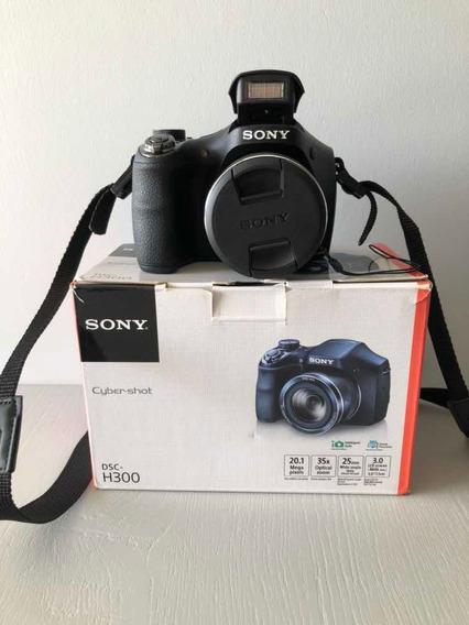 Câmera Digital Sony Cyber-shot Dsc-h300 Impecável