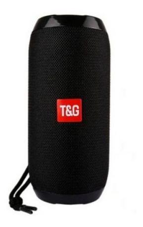 Caixa De Som Bluetooth 5w C/ Fm / Usb / Aux / Tg-117
