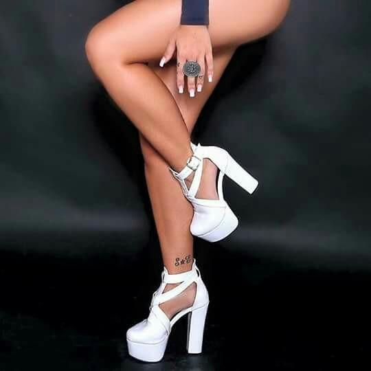 Sapatos Femininos Sandálias Plaforma Noivas Modernas