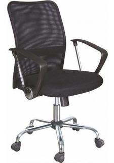 Cadeira Office Diretor Injetada Preta Bulk