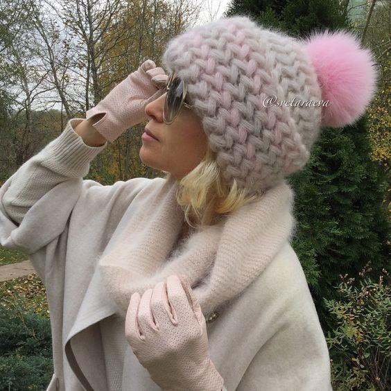 Gorro Crochet Estilo Ruso
