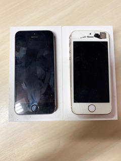 2 iPhone 5s (16gb E 64gb) Com Defeitos!