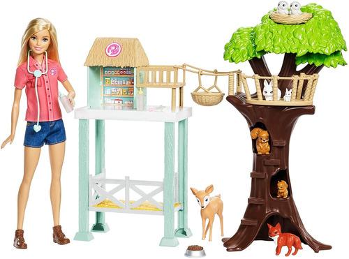 Juegos De Rescate Mattel, Barbie, Animales