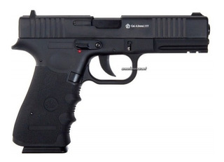 Pistola Stinger 17 Co2 Blowback 4,5mm Esferica 110m/s Metal