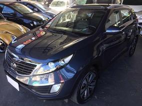 Kia Sportage 2.0 Ex 4x2 Flex Aut 2013 Azul Com Teto