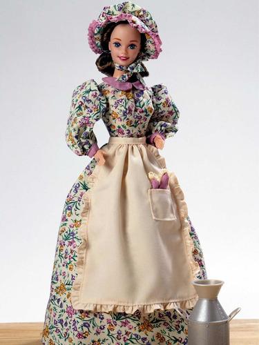 Barbie Colección Pioneer Shopkeeper Barbie Doll Importada