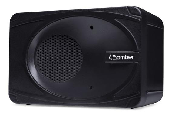Caixa Bluetooth Som Churrasco Festa Portatil Bomber Preta