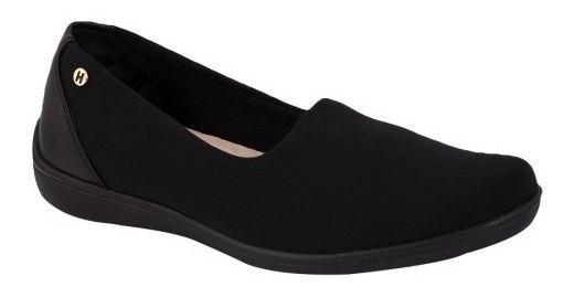 Zapato Confort Dama Hispana Negro Adb678 Dcd66 Cn