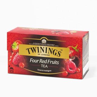 Te Twinings Te Ingles Caja X 25 Saquitos Four Red Fruit